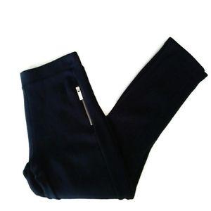 40%OFF⬇️Zara Girls Navy Stretchy Leggings 7/8
